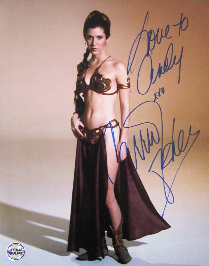 princess leia bikini carrie fisher. Carrie Fisher. Princess Leia